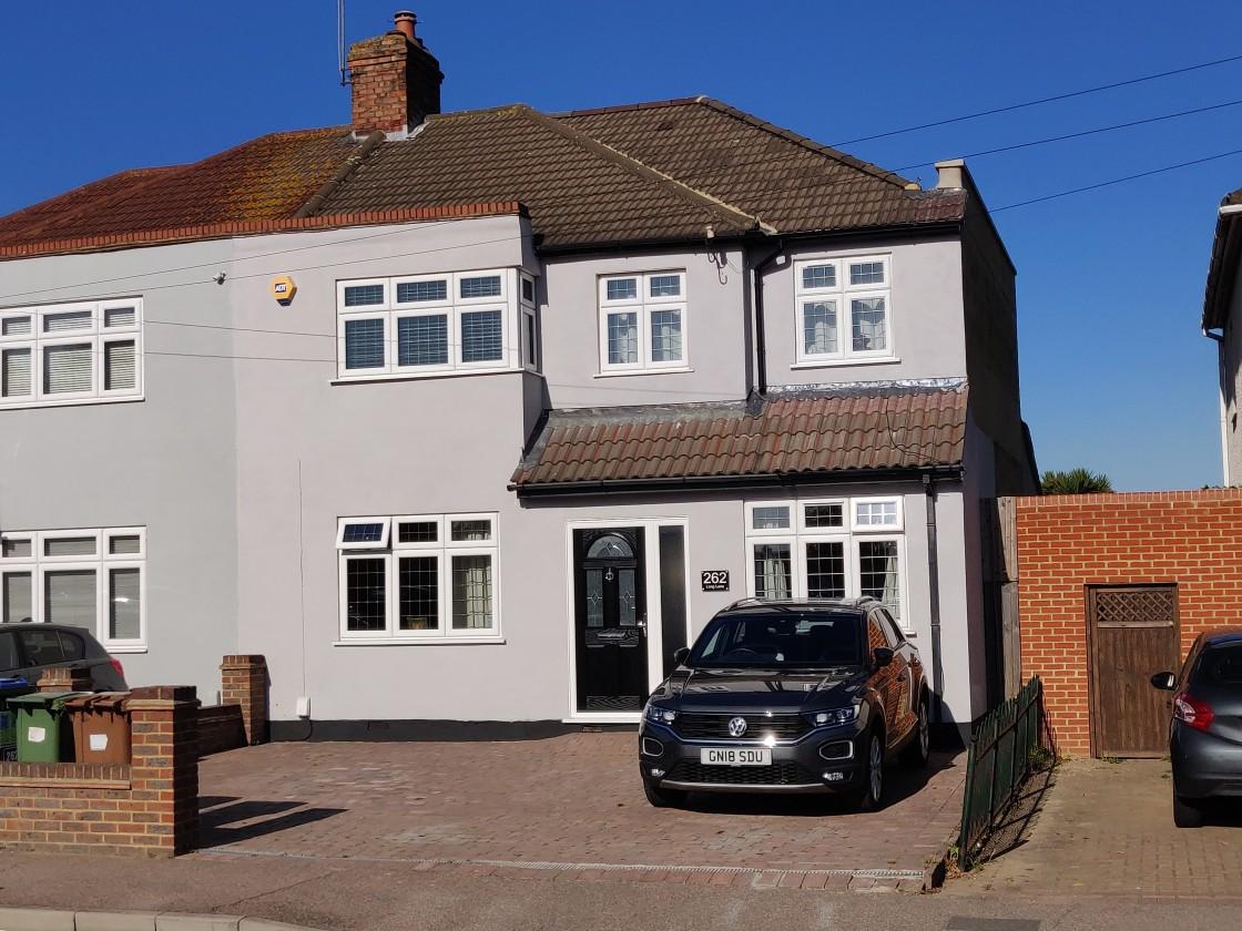 262 Long Lane, Bexleyheath, Kent, DA7 5HZ (Bexley Council) (planning permission & building control)architect, ARB / RIBA
