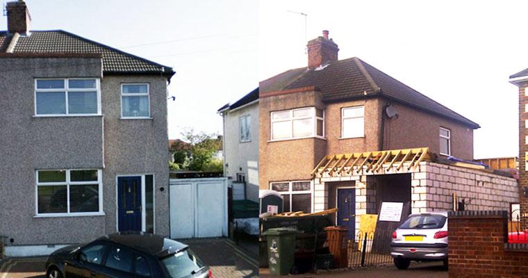 262 Long Lane, Bexleyheath, Kent, DA7 5HZ (Bexley Council)  (planning permission & building control)