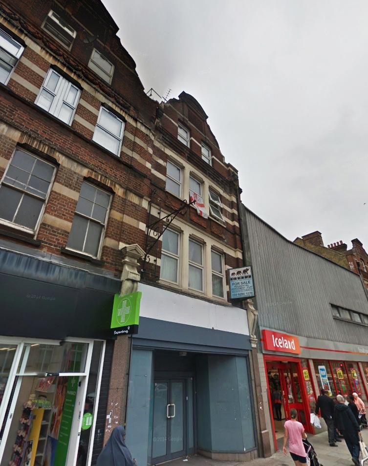 Streatham High Road, Streatham, London, SW166EP (Lambeth Council)  (planning permission & building control)