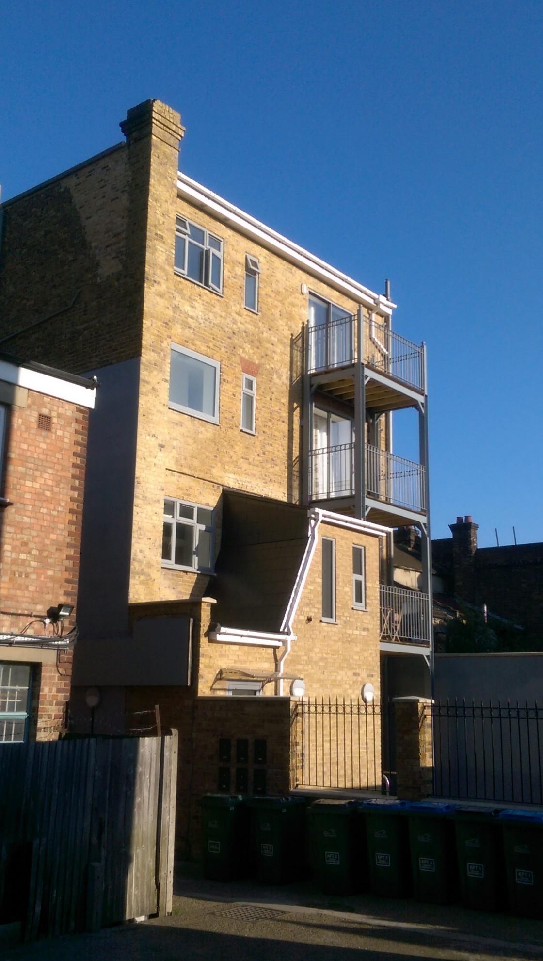 11 Court Yard, Eltham, London, SE95QE (Greenwich Council) (planning permission & building control)