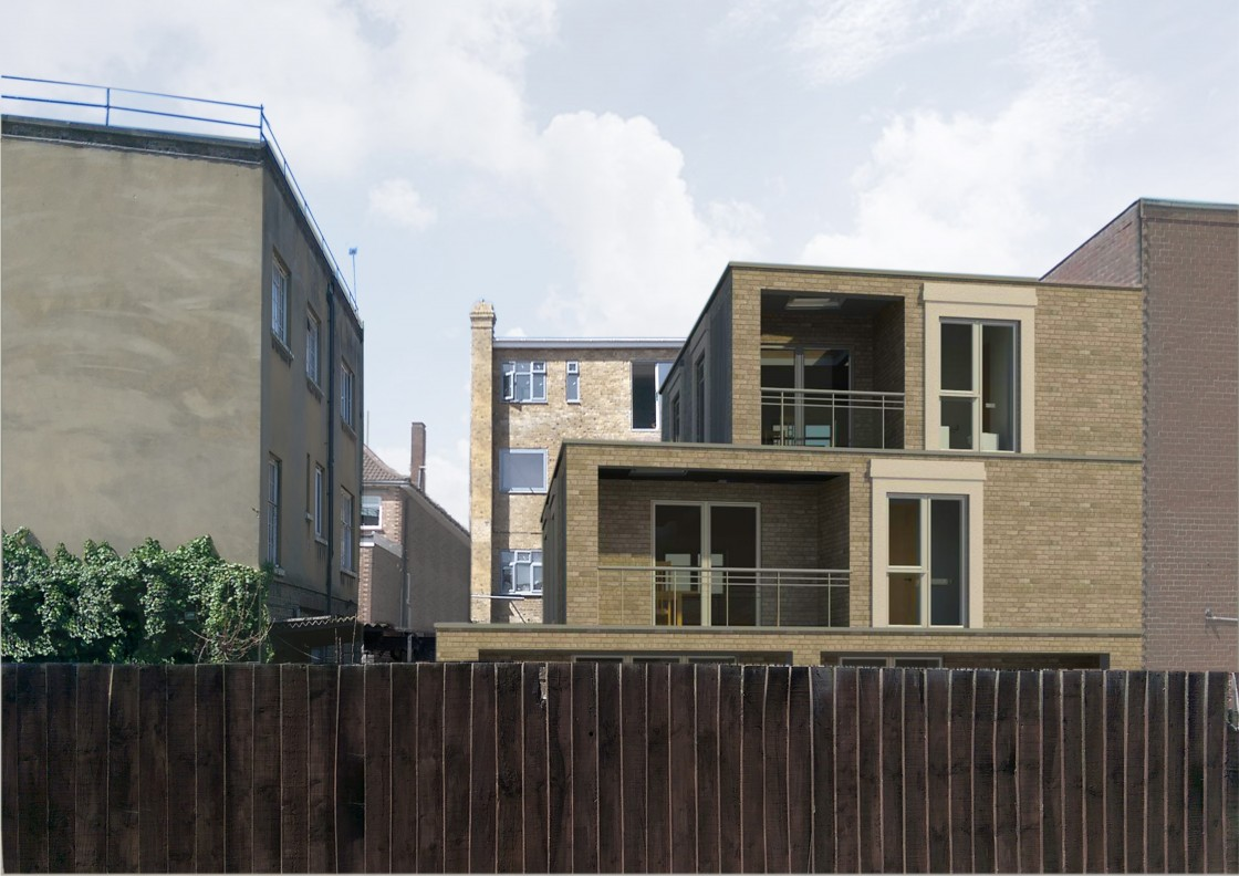 11 Court Yard, SE9 5PR (Proposed Rear)