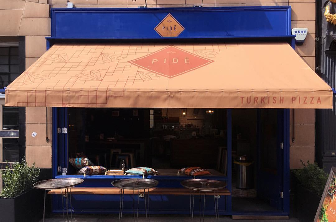 Front Shop Front_Pide, 45 Charlotte St, London, W1T1RS (planning permission & building control)