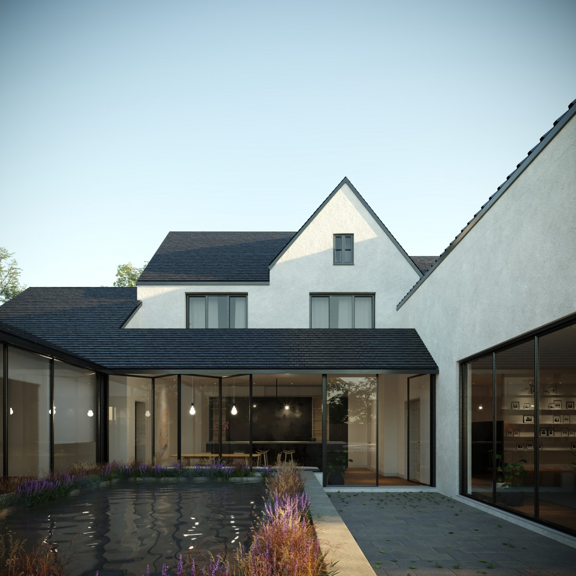 Manor Way, Bromley, London, BR3 (Bromley Council)(planning permission & building control) architect, ARB / RIBA